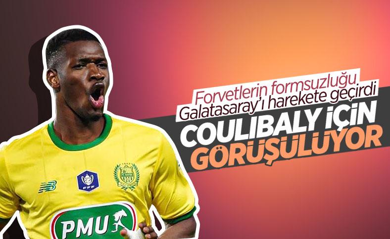 Galatasaray forvet için Kalifa Coulibaly'yle görüşüyor