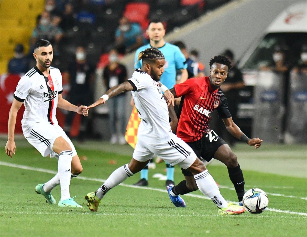 Beşiktaş, Gaziantep ten 1 puanla döndü #1