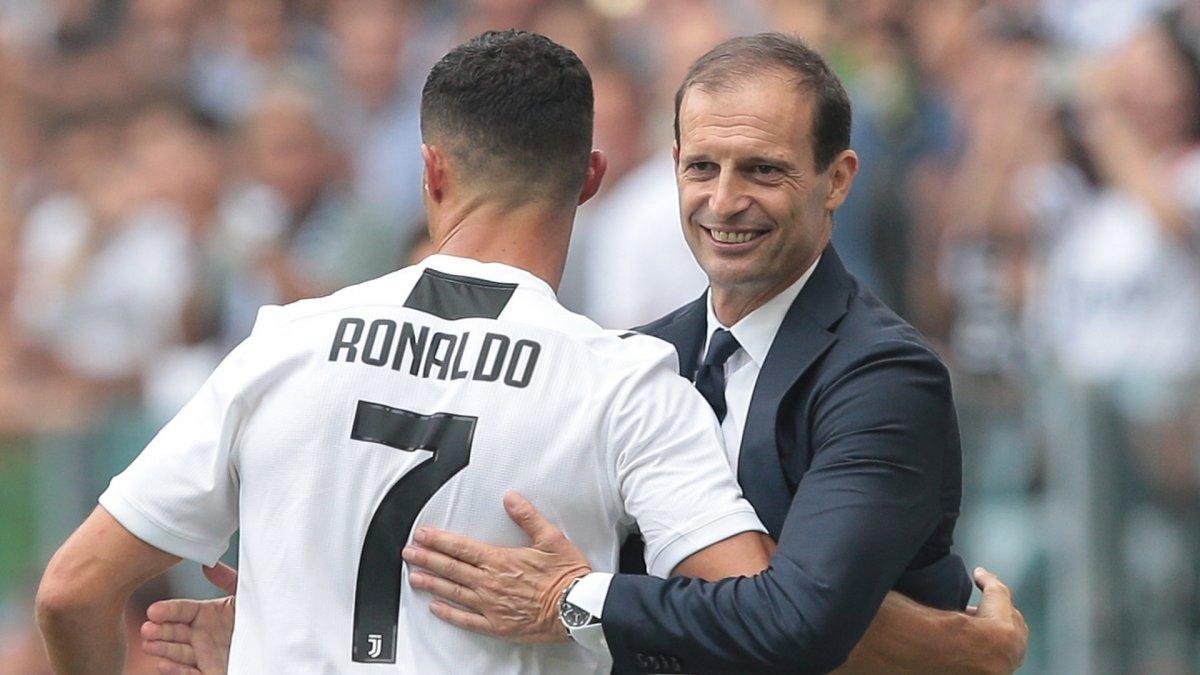 Allegri: Ronaldo bana takımda kalacağını söyledi #1