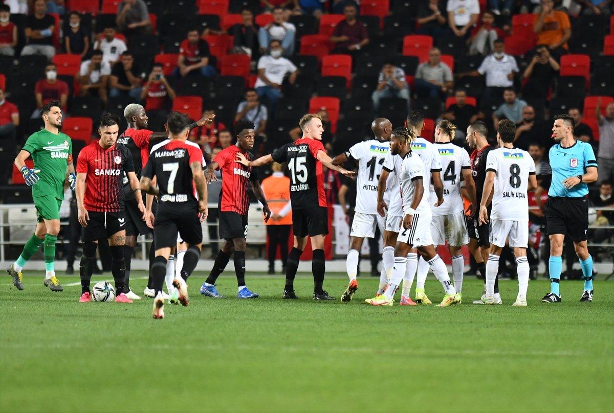 Beşiktaş, Gaziantep ten 1 puanla döndü #4