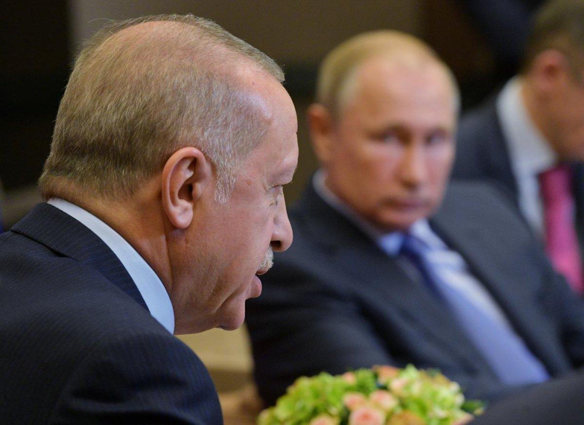 Cumhurbaşkanı Erdoğan, Vladimir Putin ile görüştü #2