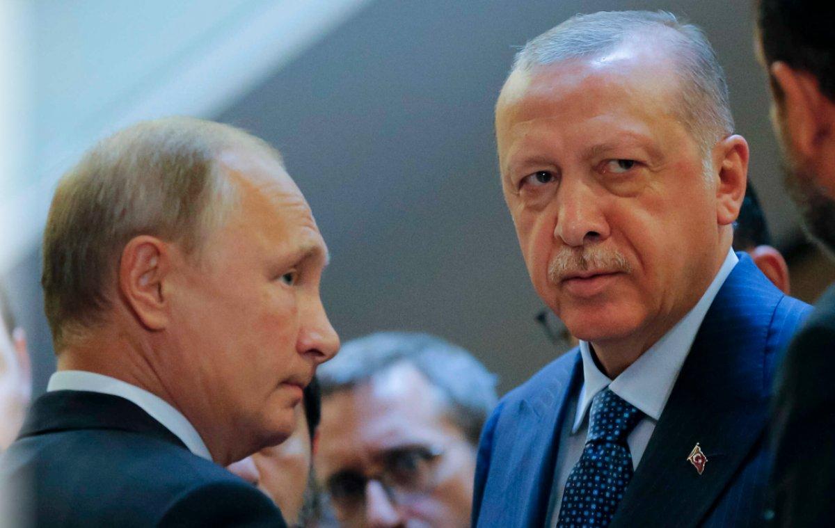 Cumhurbaşkanı Erdoğan, Vladimir Putin ile görüştü #1