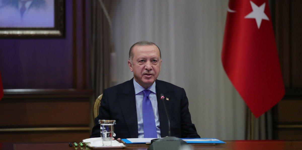 Cumhurbaşkanı Erdoğan, Angela Merkel ile görüştü #1