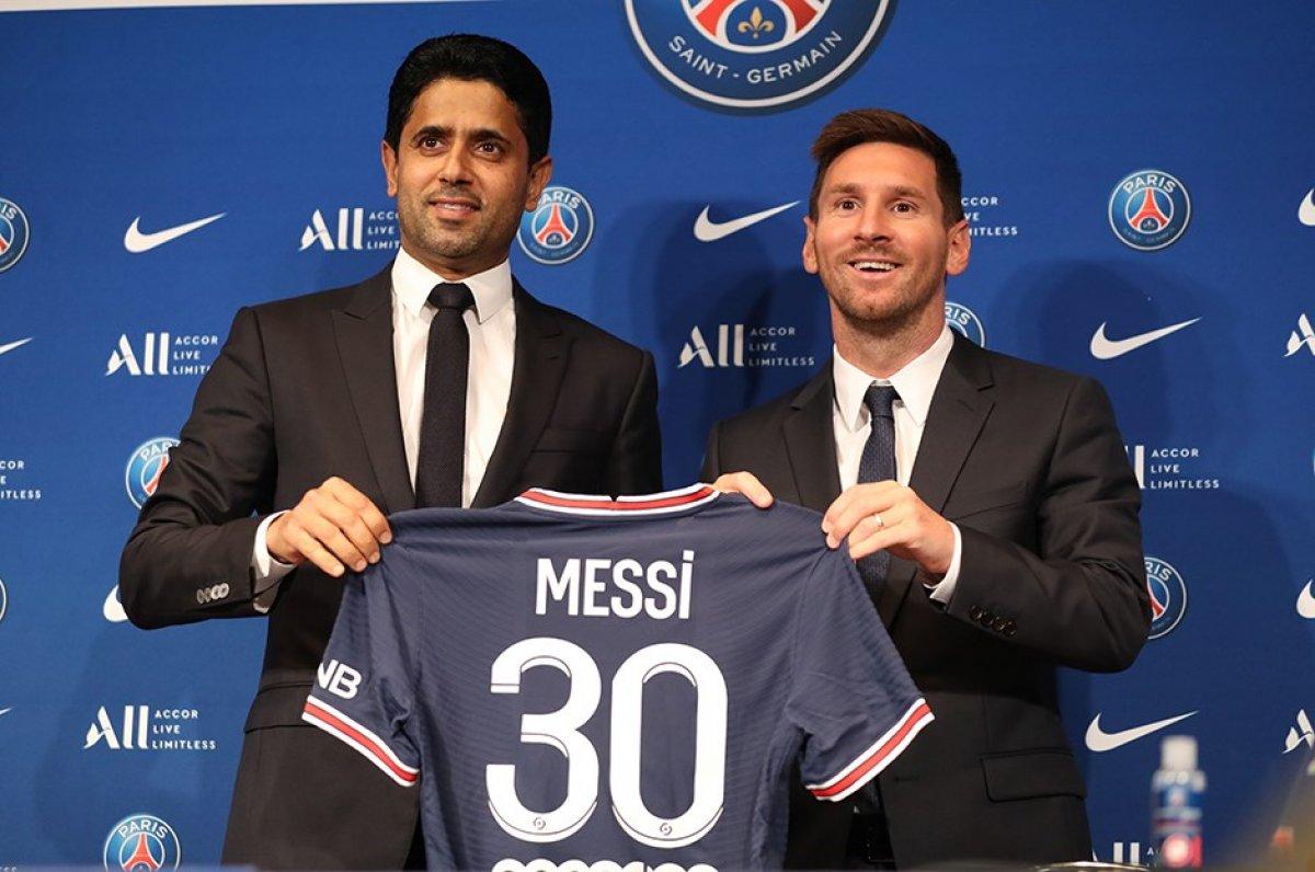 PSG de Lionel Messi forması bir milyondan fazla satıldı #2
