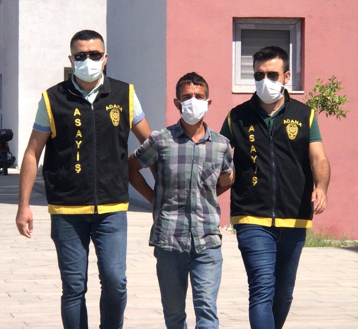 Adana da hastaneden refakatçilerin eşyasını çalan 3 hırsız tutuklandı #1