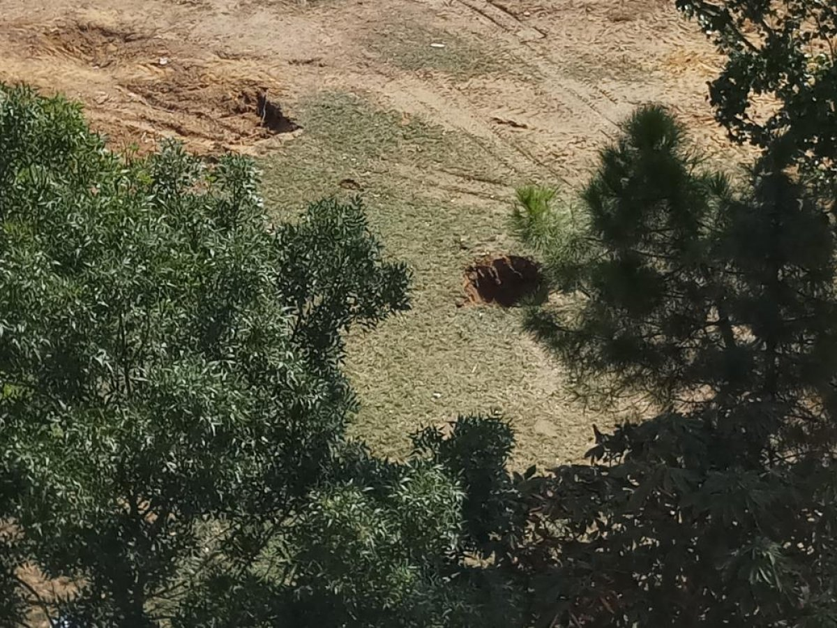 Eyüpsultan da parkın yıkımına tepki: Taksim de üç tane ağaç yıkılacak diye ayağa kalktınız #3