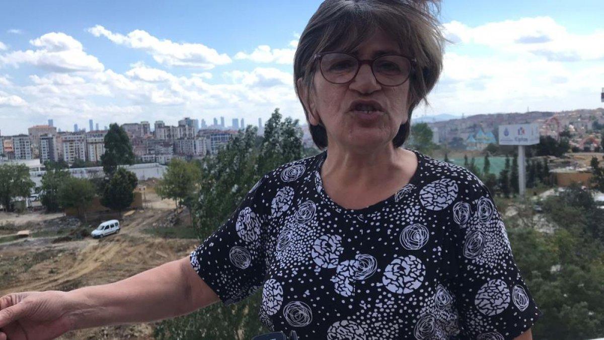 Eyüpsultan da parkın yıkımına tepki: Taksim de üç tane ağaç yıkılacak diye ayağa kalktınız #4