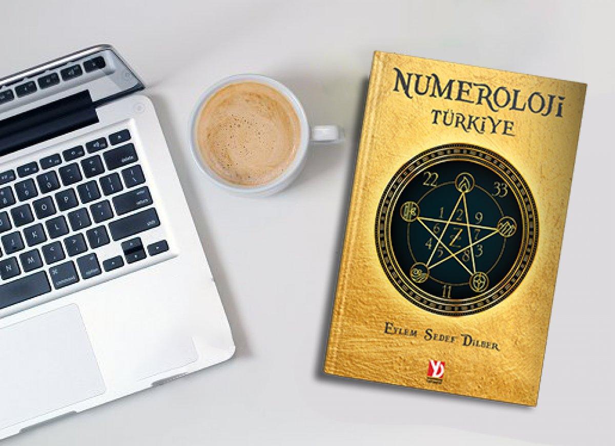 Eylem Sedef Dilber in Numeroloji kitabı sıra dışı bir okuma sunuyor #1