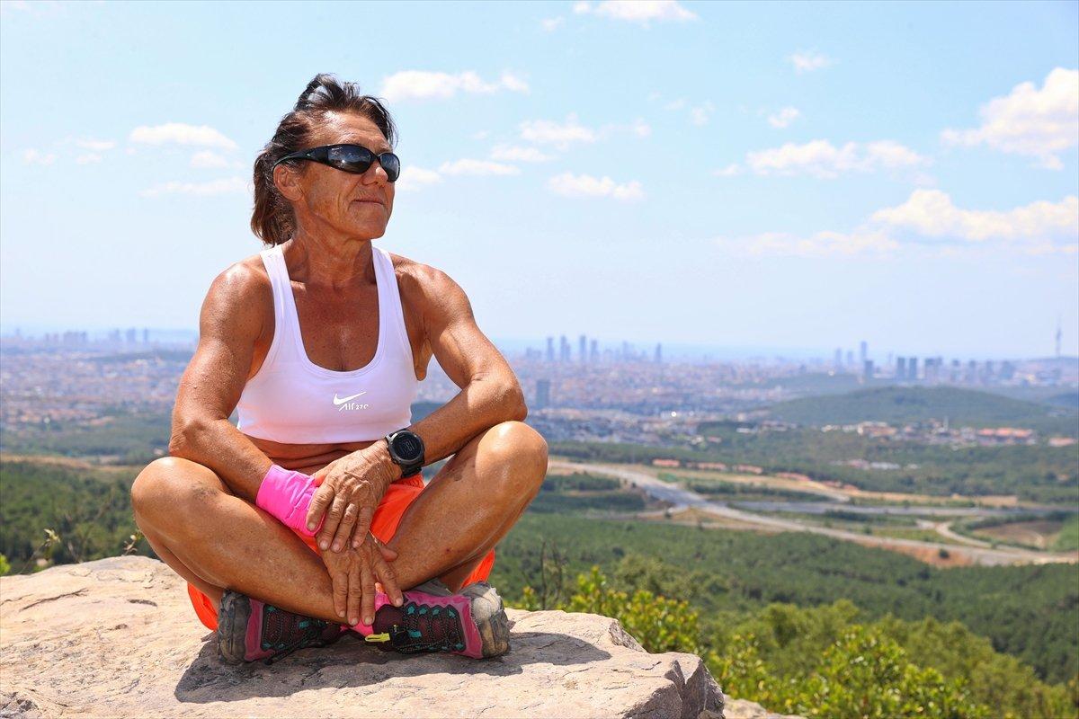 Ultra maratoncu Bakiye Duran, 62 yaşında 300 kilometre koşacak #7