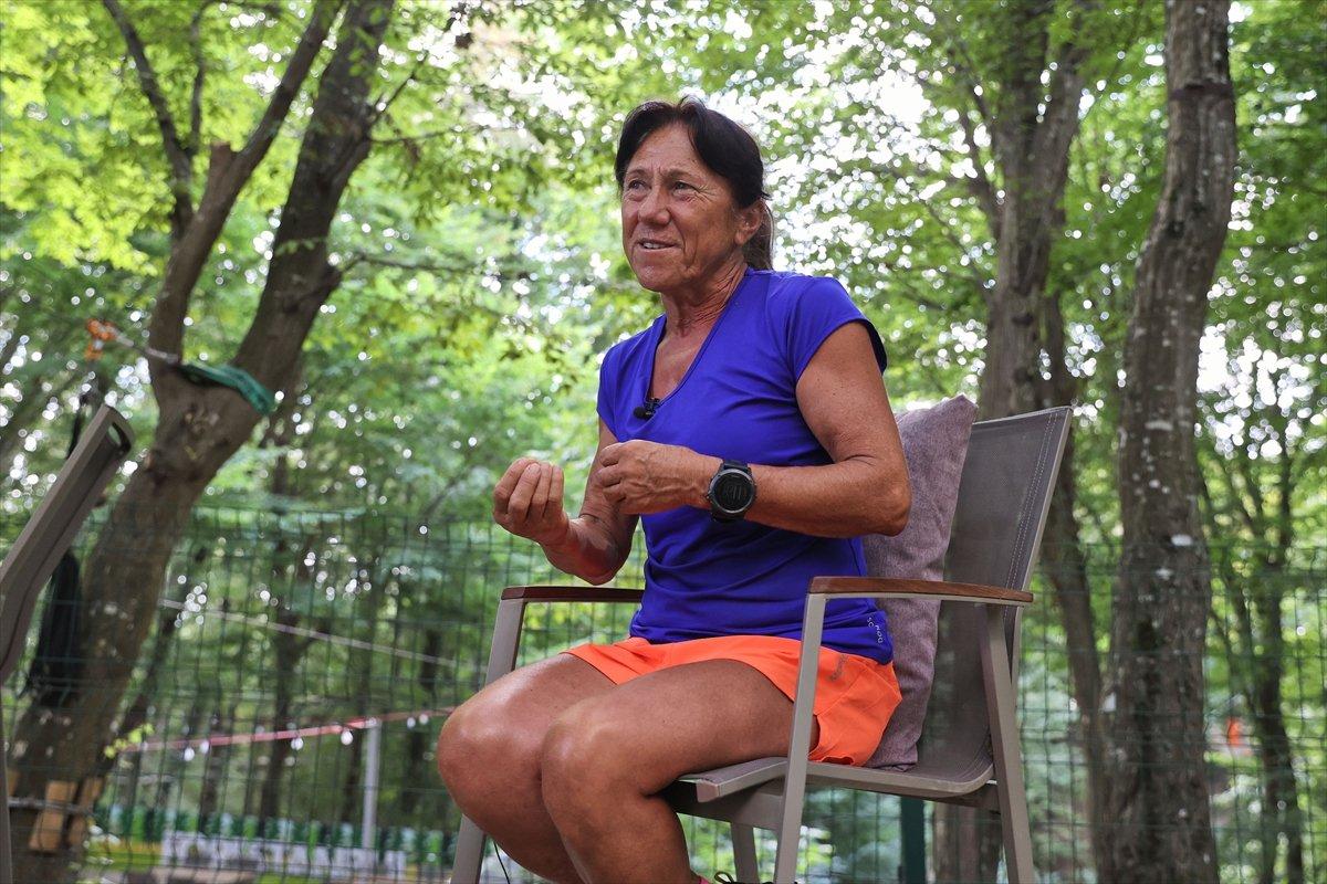 Ultra maratoncu Bakiye Duran, 62 yaşında 300 kilometre koşacak #9