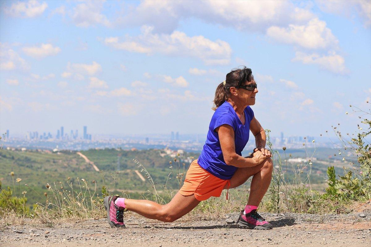 Ultra maratoncu Bakiye Duran, 62 yaşında 300 kilometre koşacak #10