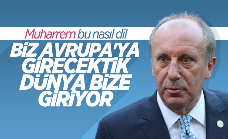 Muharrem İnce, Türkiye'nin göçmen politikasını eleştirdi