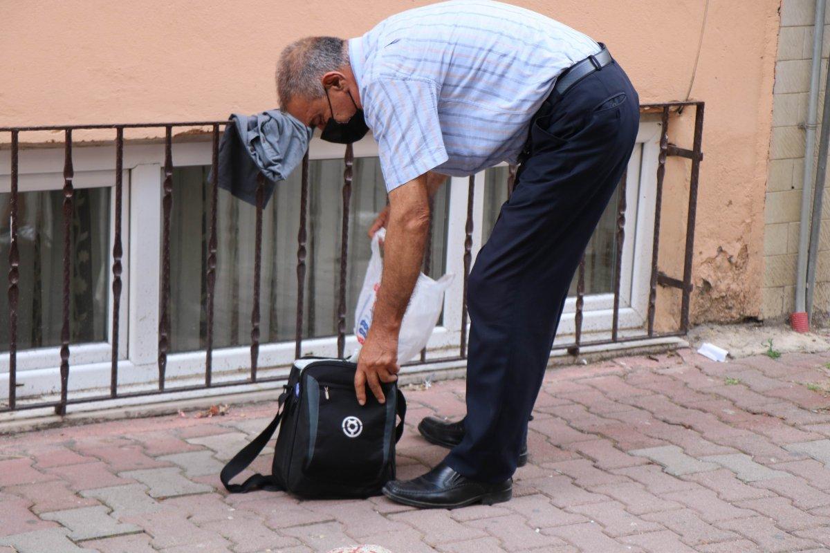 Samsun'da şüpheli çanta paniği #3