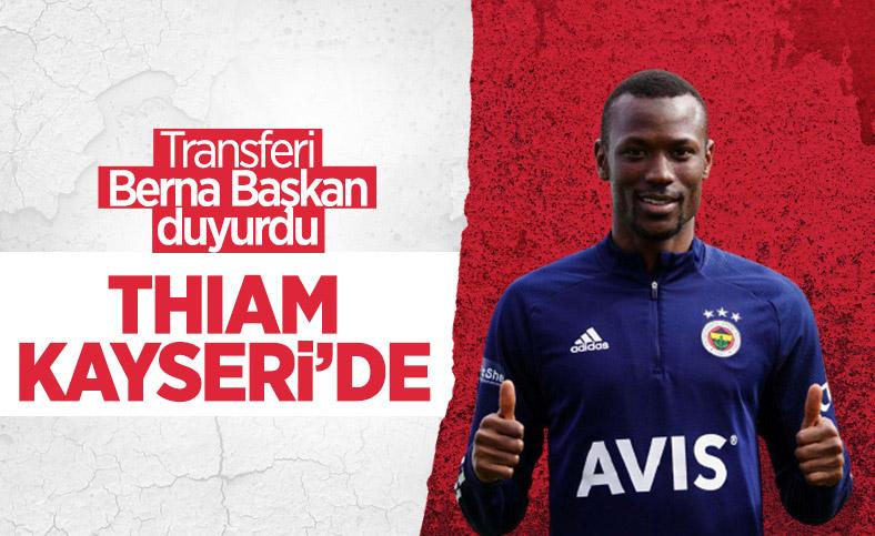 Fenerbahçeli Mame Thiam, Kayserispor'da