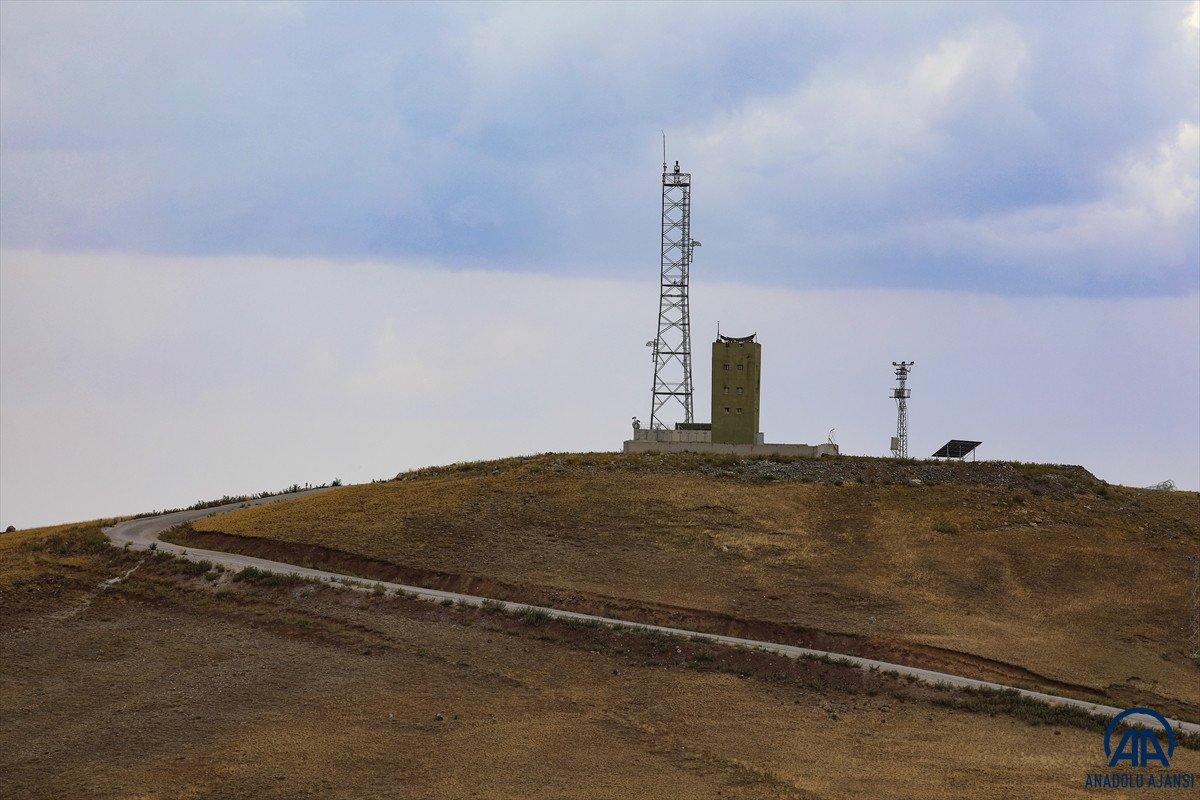 Türkiye-İran sırında duvar örme çalışmaları devam ediyor #20