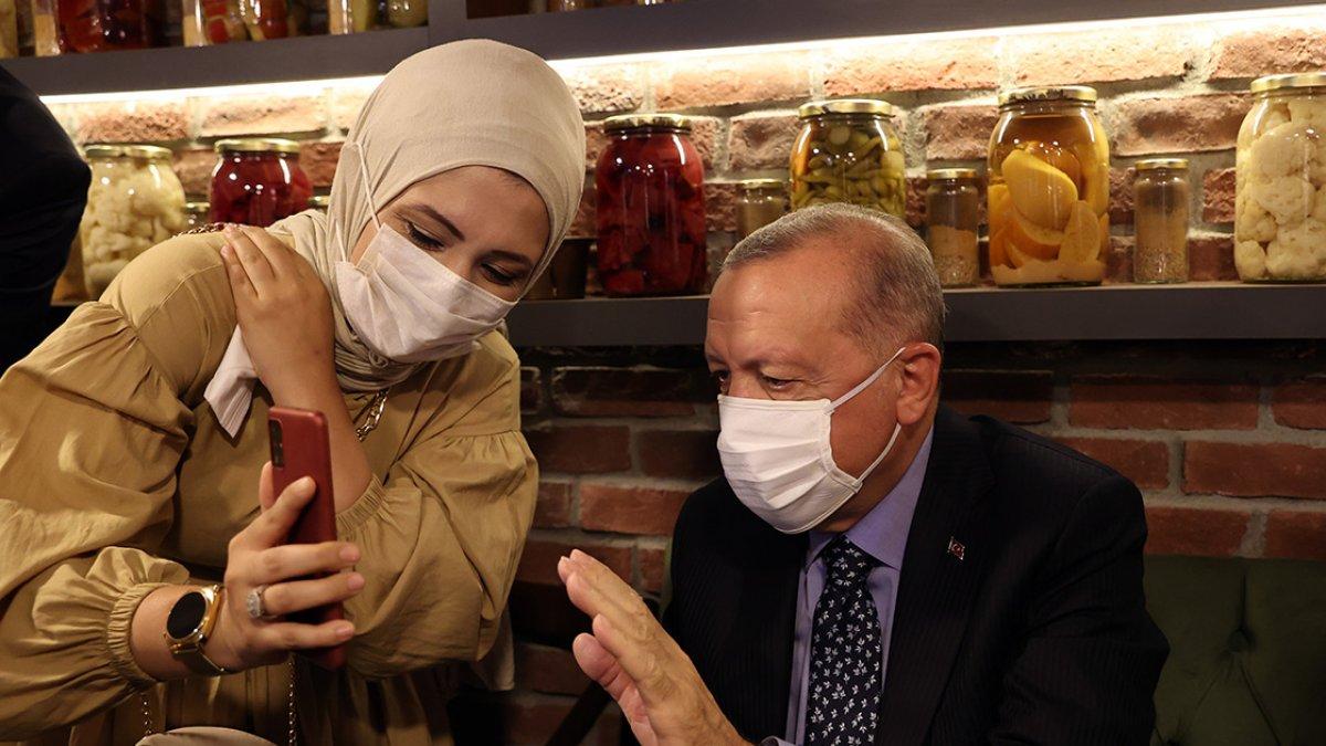 Çengelköy de Cumhurbaşkanı Erdoğan a sevgi seli #2