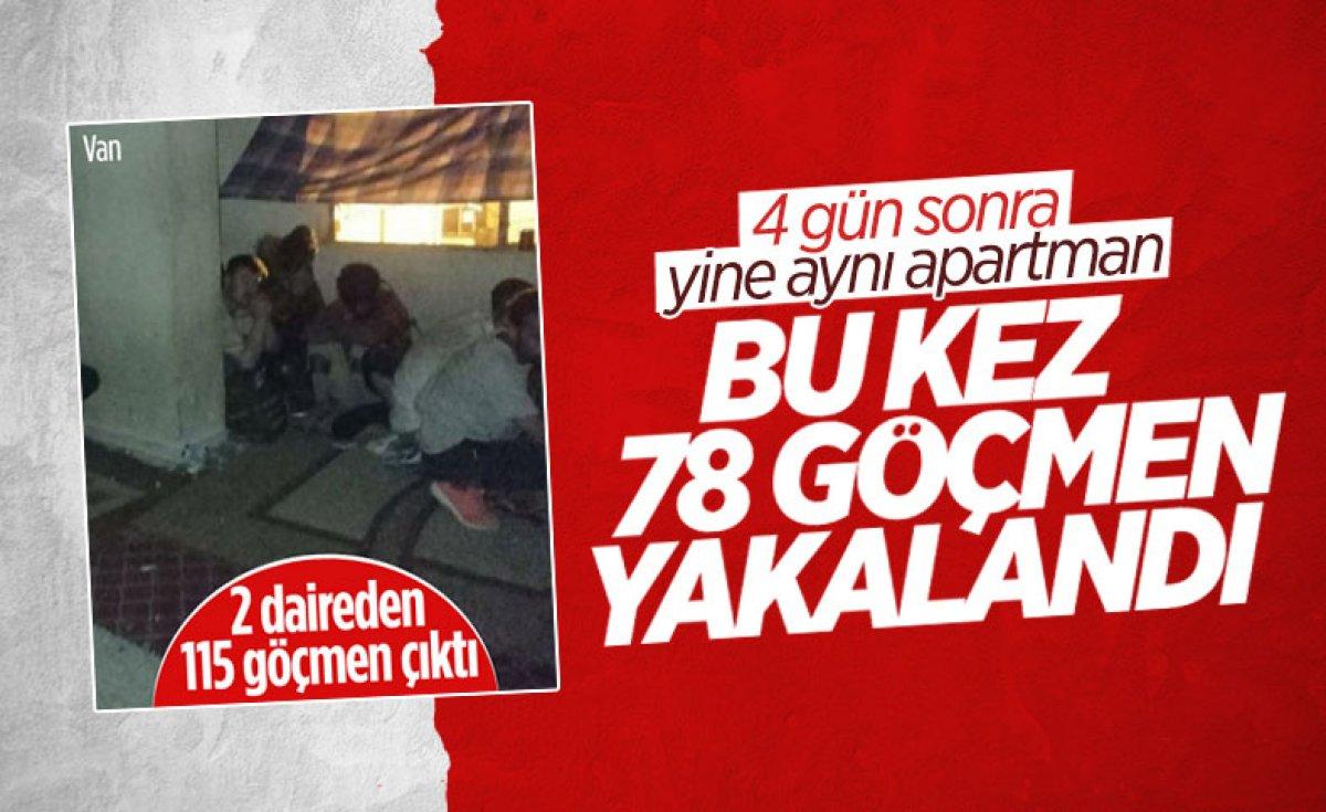Van da 25 düzensiz göçmen yakalandı #1
