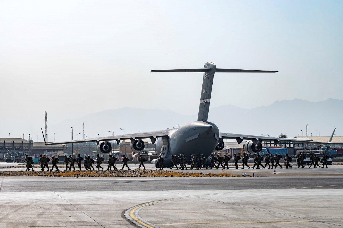 Pentagon: Afganistan dan 17 bin kişiyi tahliye ettik #4