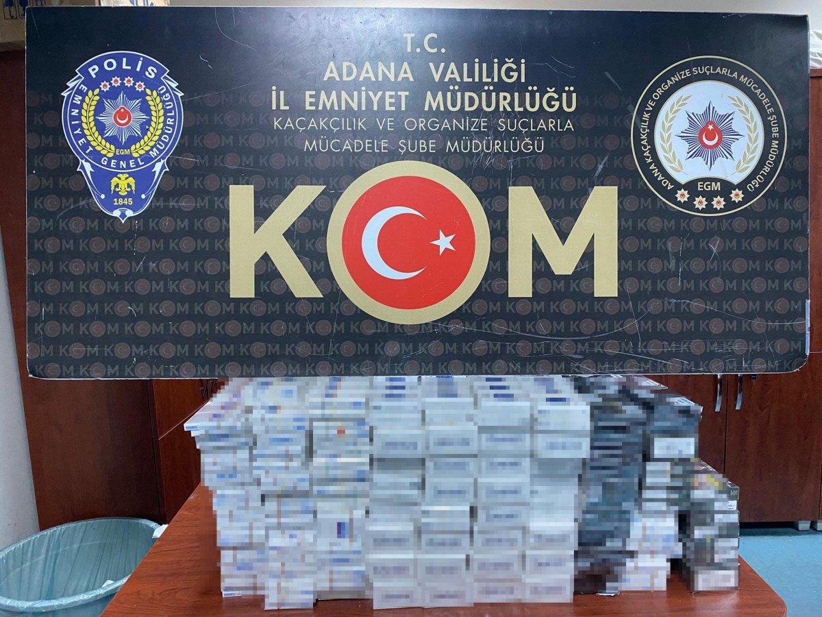Adana'da kaçak tütün operasyonu: 4 gözaltı #3
