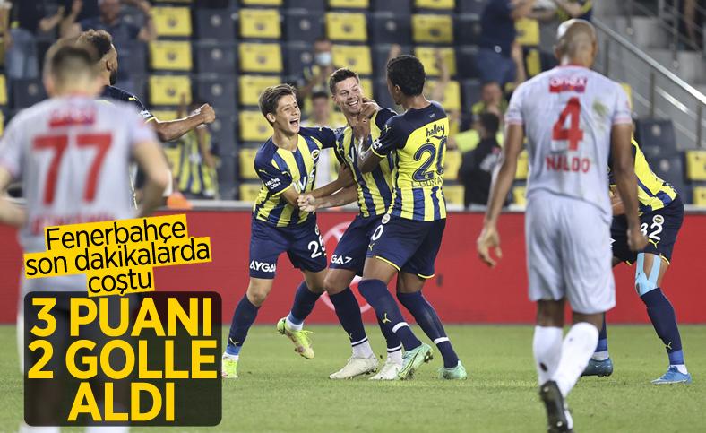 Fenerbahçe evinde Antalyaspor'u 2 golle geçti