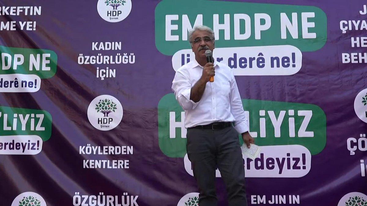 HDP den terörist başı Abdullah Öcalan için özgürlük talebi #1