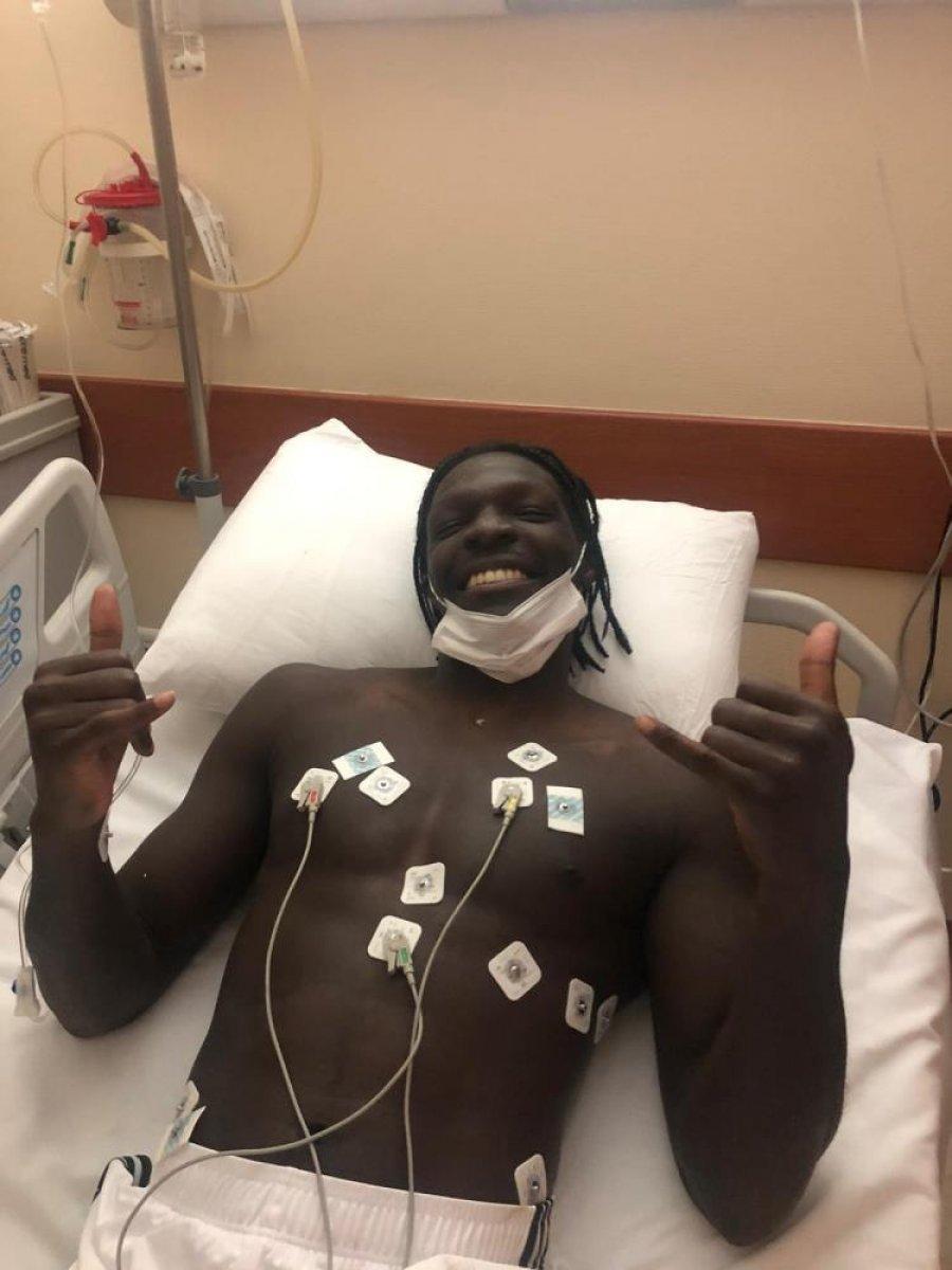 N Sakala hastaneye kaldırıldı #5