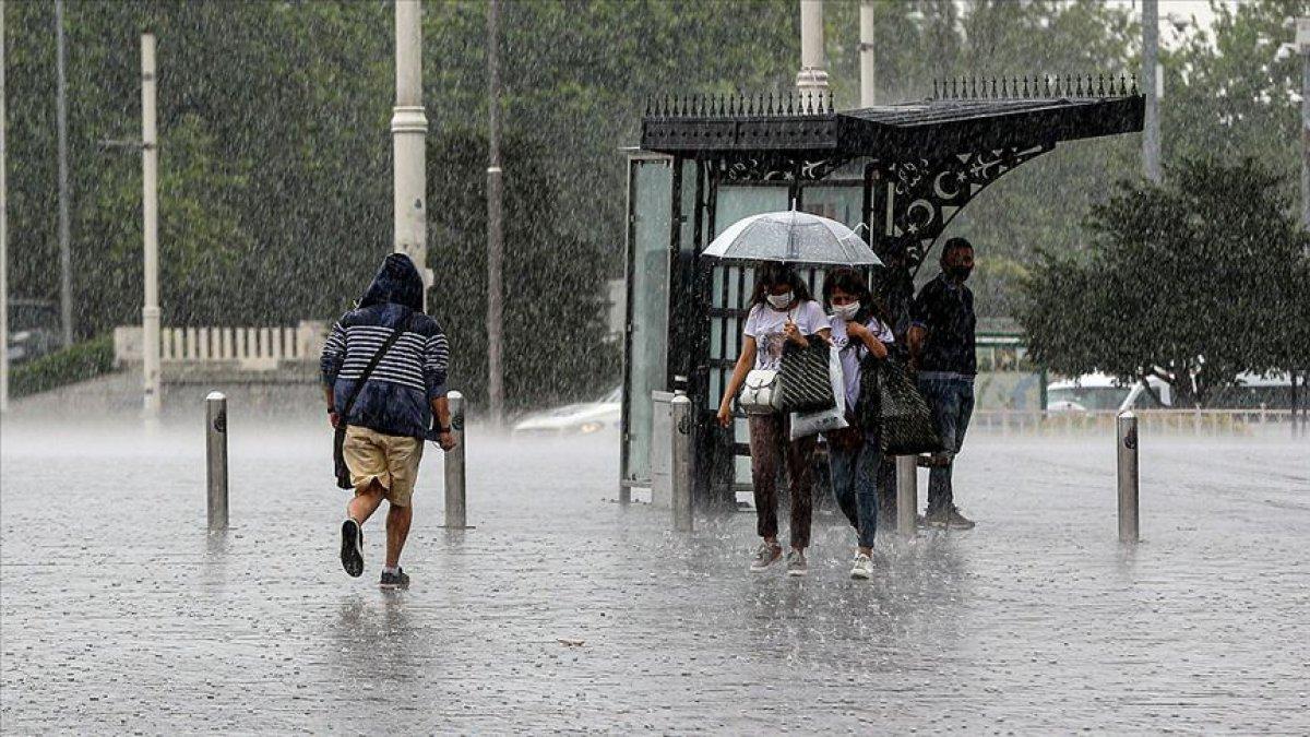 Meteorolojiden İstanbul ve çevresi için sağanak yağış uyarısı #5