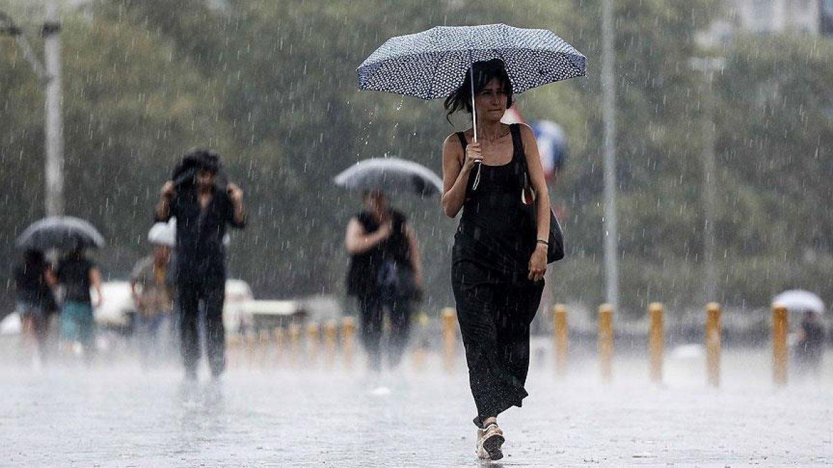 Meteorolojiden İstanbul ve çevresi için sağanak yağış uyarısı #10