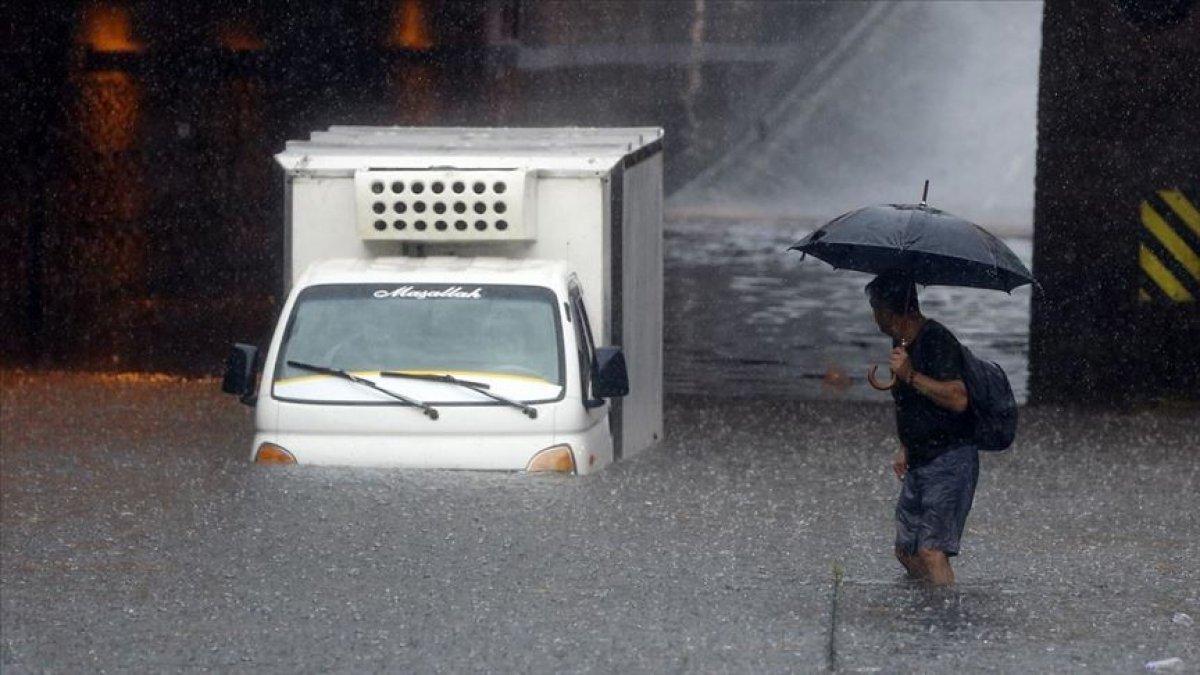 Meteorolojiden İstanbul ve çevresi için sağanak yağış uyarısı #3