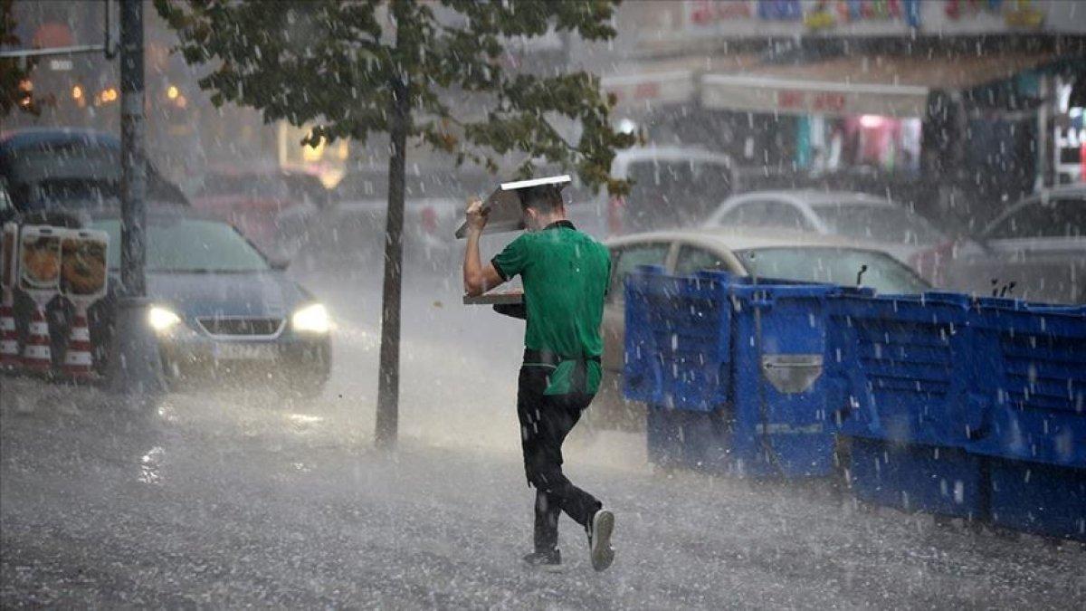 Meteorolojiden İstanbul ve çevresi için sağanak yağış uyarısı #9