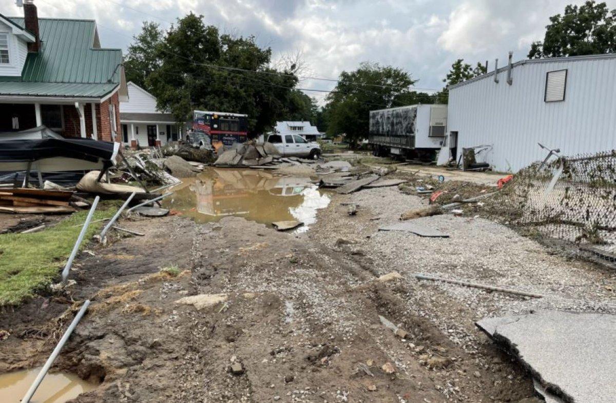 ABD nin Tennessee eyaletinde sel felaketi #2