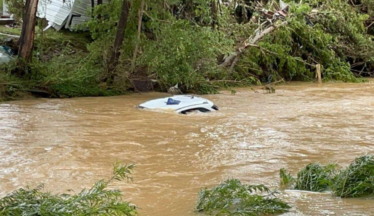 ABD nin Tennessee eyaletinde sel felaketi #3