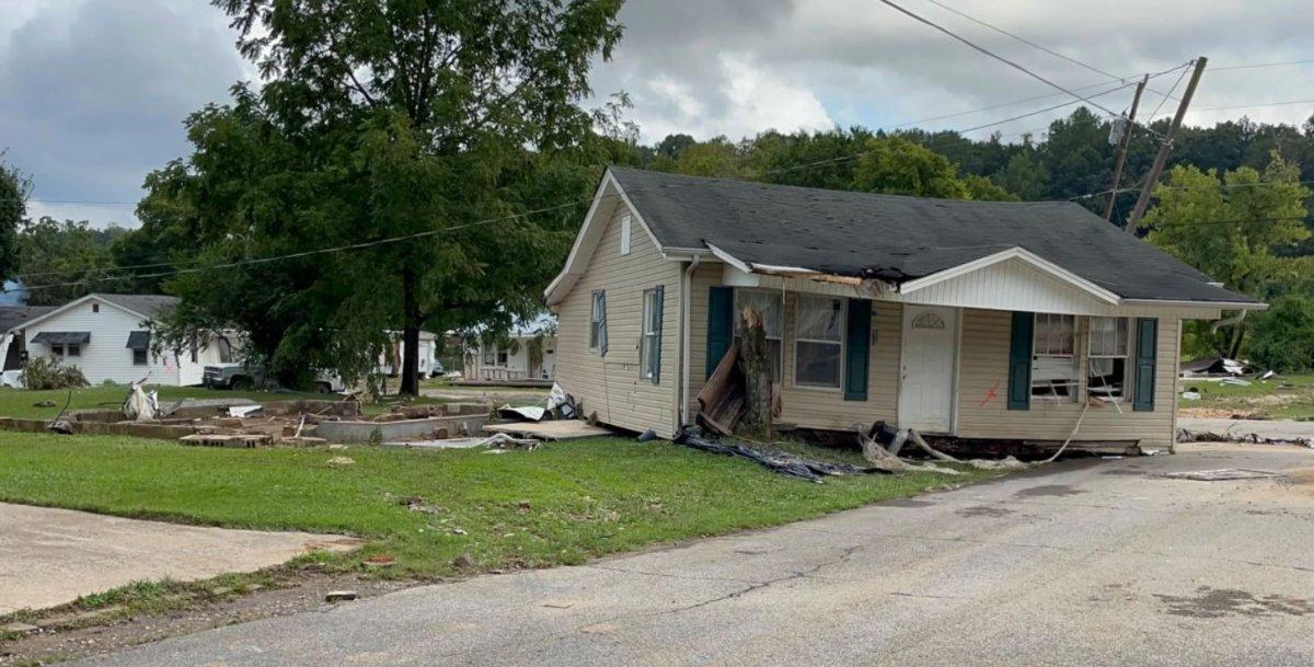 ABD nin Tennessee eyaletinde sel felaketi #5