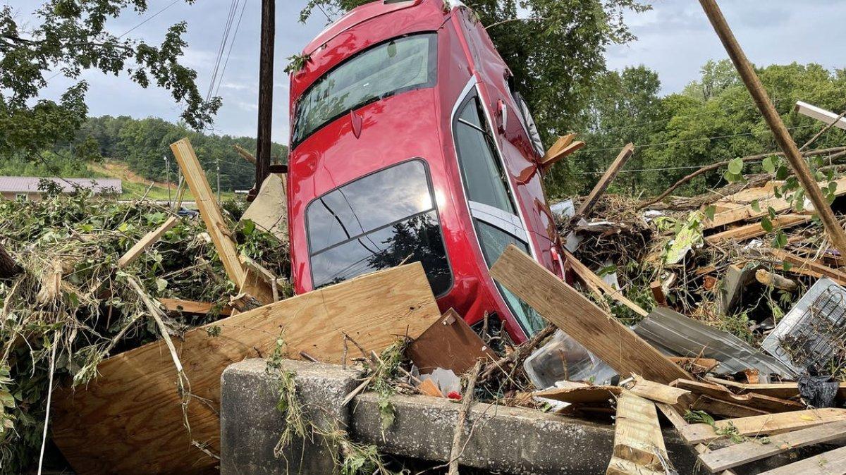 ABD nin Tennessee eyaletinde sel felaketi #6