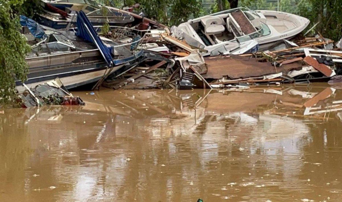ABD nin Tennessee eyaletinde sel felaketi #4