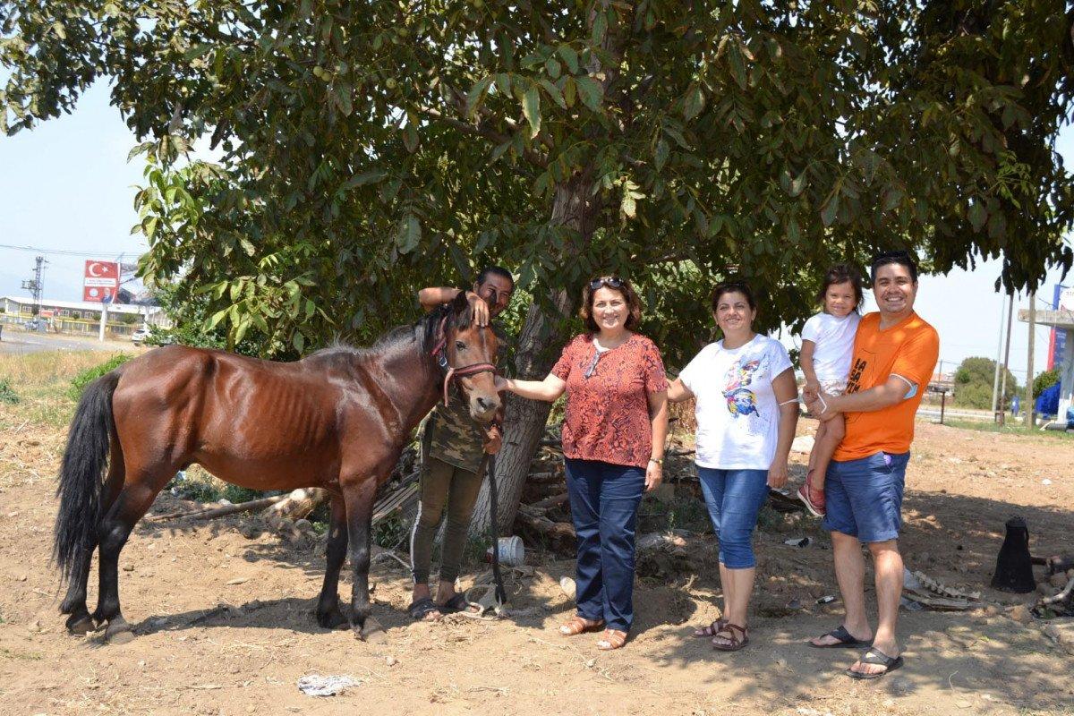 Doğa ve hayvan haklarına dikkat çekmek için atı ile yürüyor #7