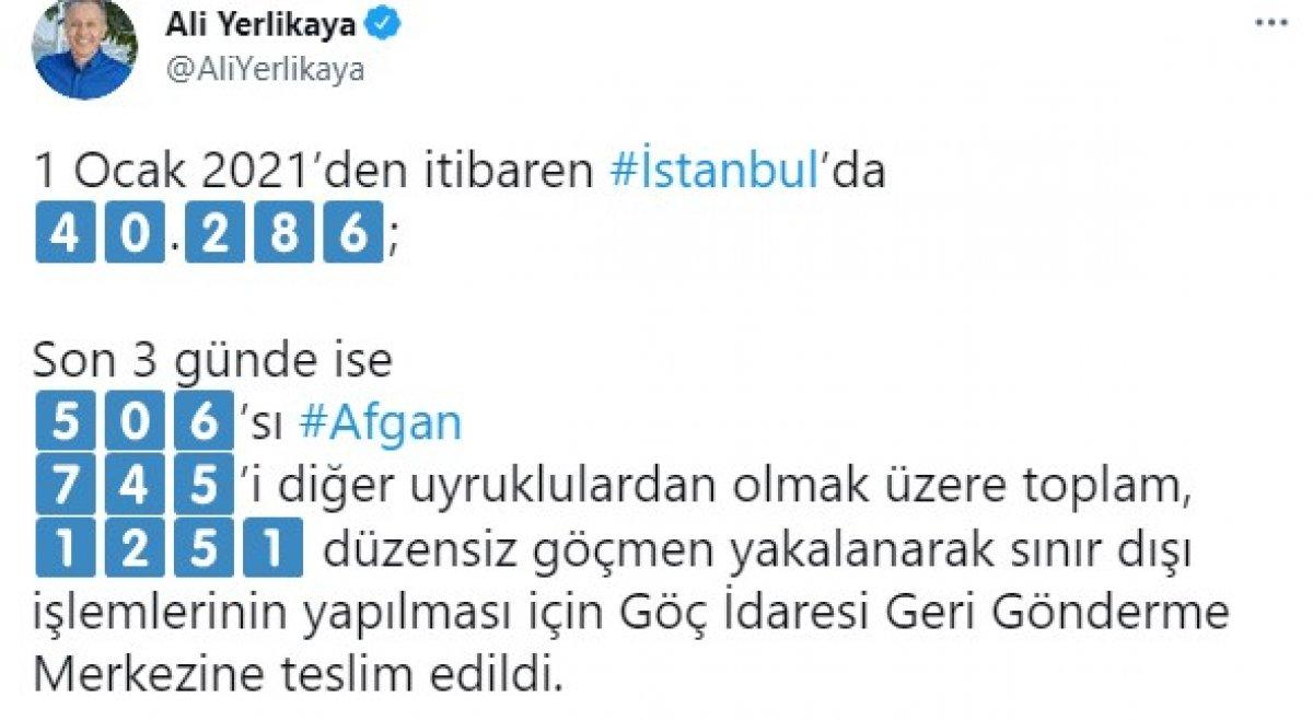 İstanbul da son 3 günde 1251 kaçak göçmen yakalandı #2