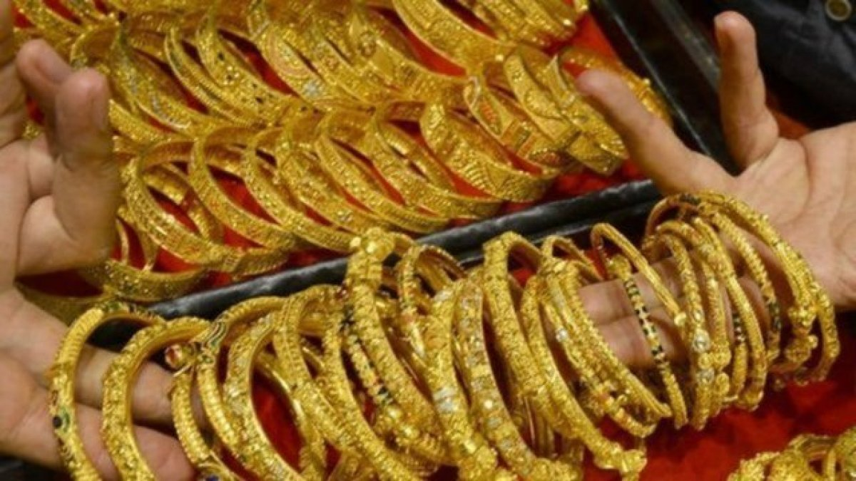 Altında ibre yukarı döndü! Altın fiyatları 23 Ağustos 2021: Bugün gram, çeyrek, yarım, tam altın ne kadar? #1