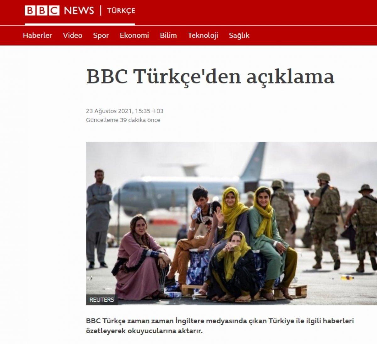 BBC Türkçe  mülteci kampı  haberi için özür diledi #3