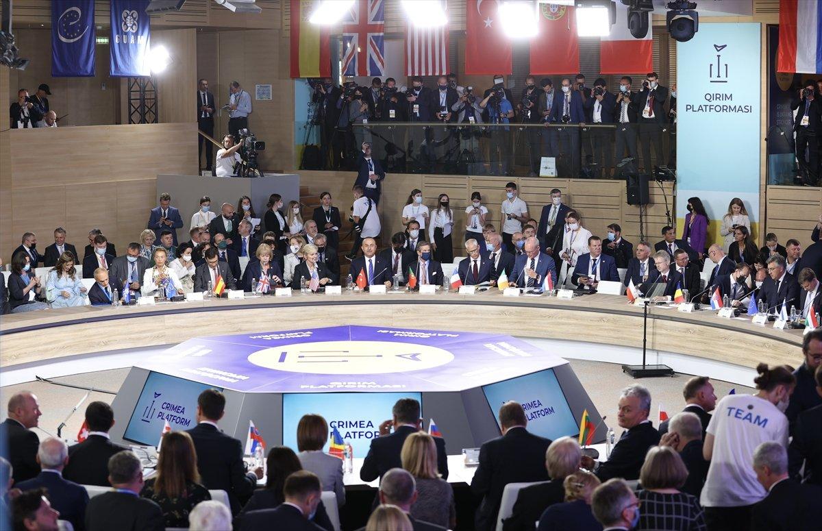 Mevlüt Çavuşoğlu: Kırım Ukrayna'dır #2