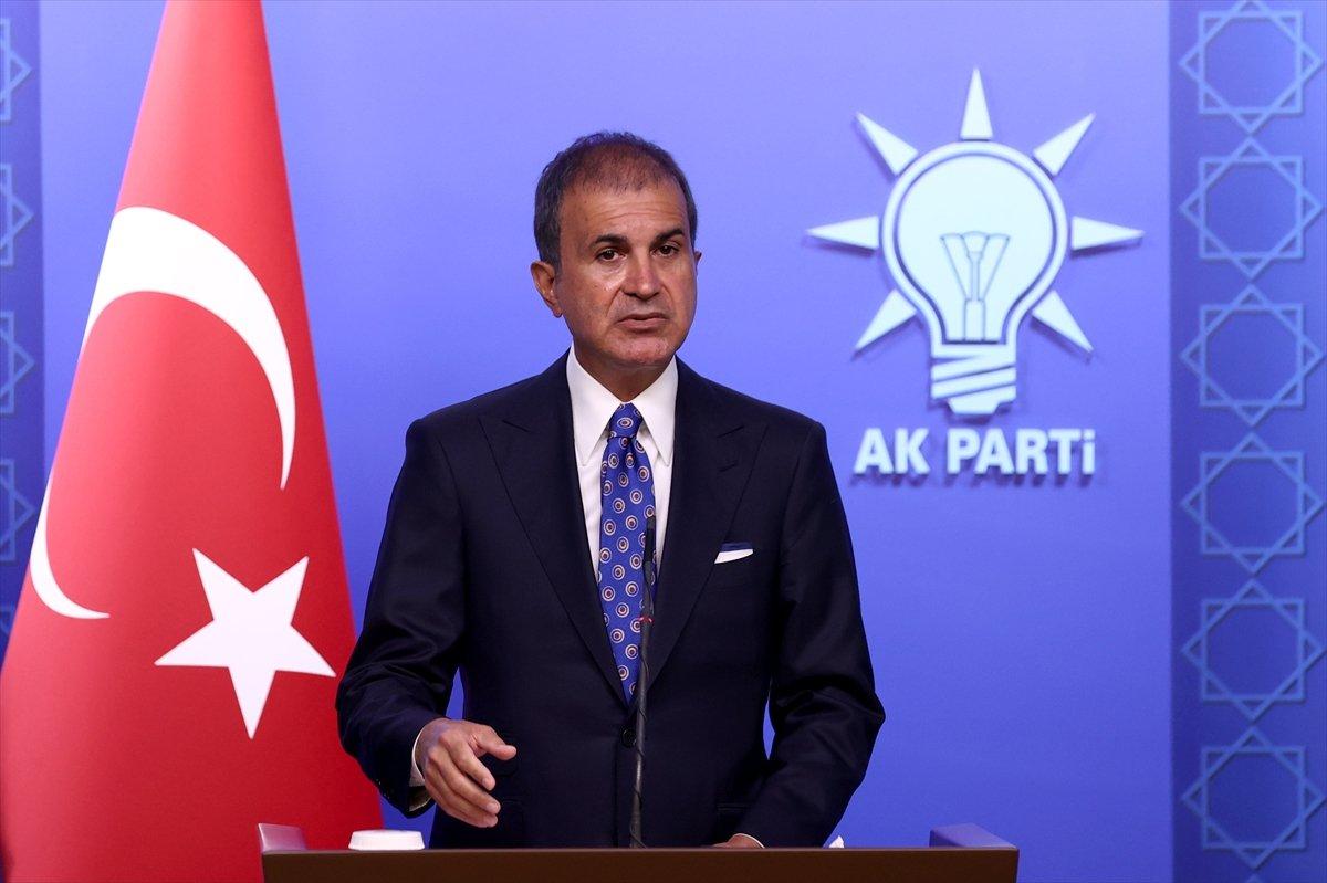 Ömer Çelik: Türkiye göçmen kampı değildir #2
