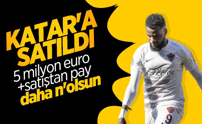 Hatayspor'dan resmi Boupendza açıklaması