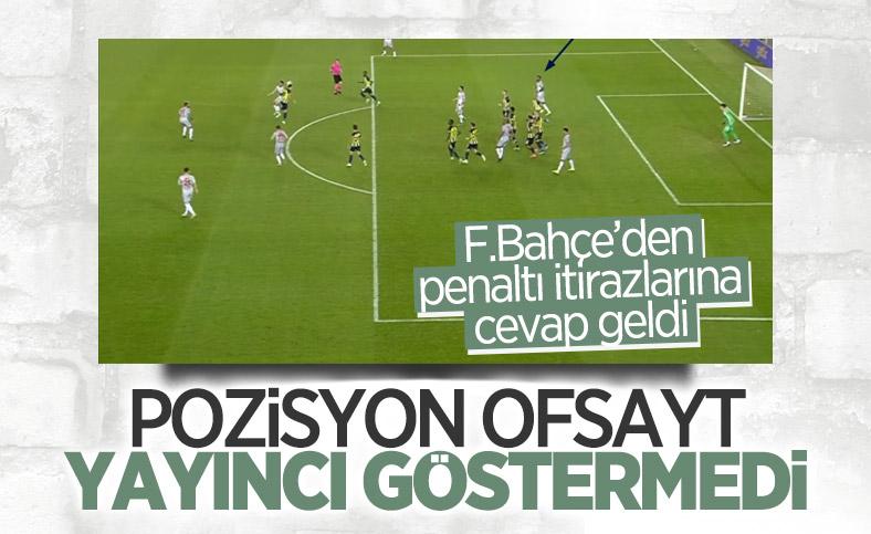 Fenerbahçe'den Antalyaspor'un penaltı isyanına cevap