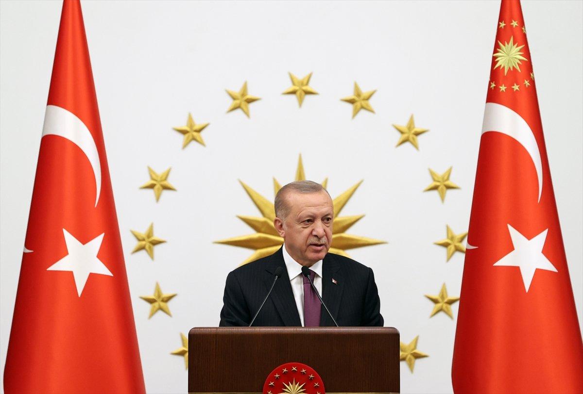 Cumhurbaşkanı Erdoğan, milli sporcularla bir araya geldi #2