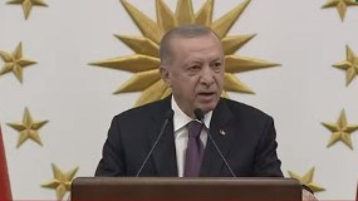 Cumhurbaşkanı Erdoğan, milli sporcularla bir araya geldi #1
