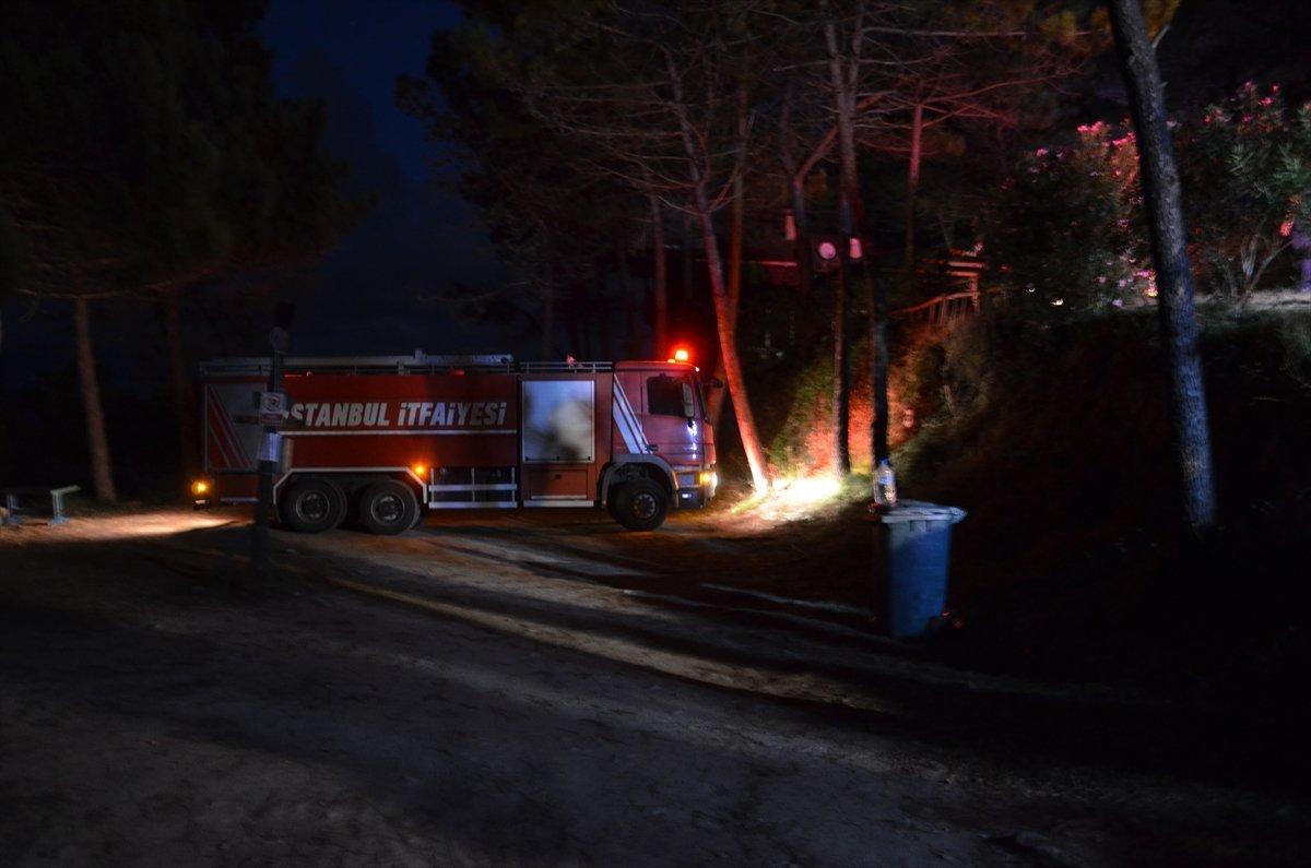 İstanbul da kamp alanında yangın çıktı #2