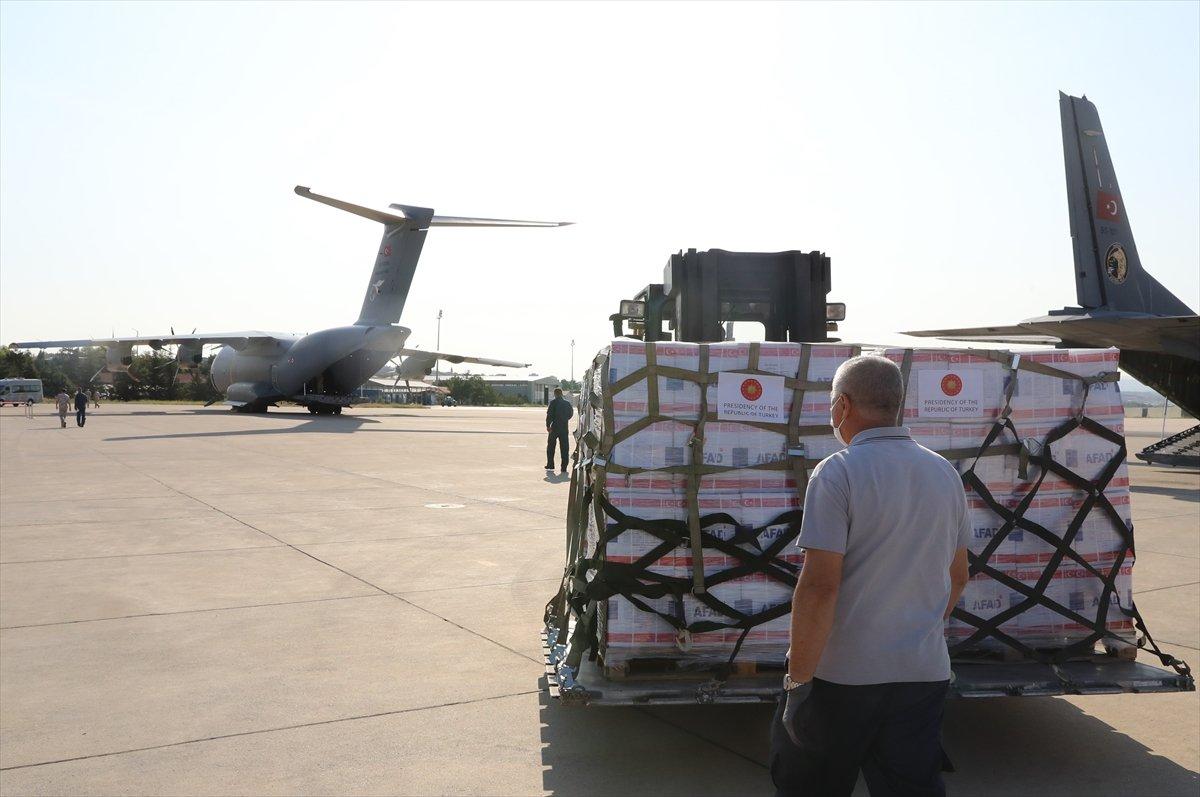 Türkiye, depremin ardından Haiti ye yardım gönderdi #3