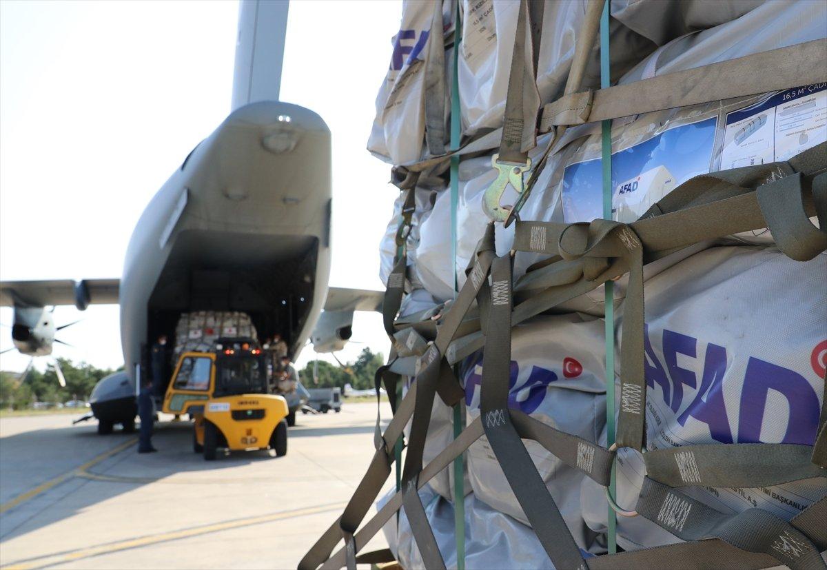 Türkiye, depremin ardından Haiti ye yardım gönderdi #8