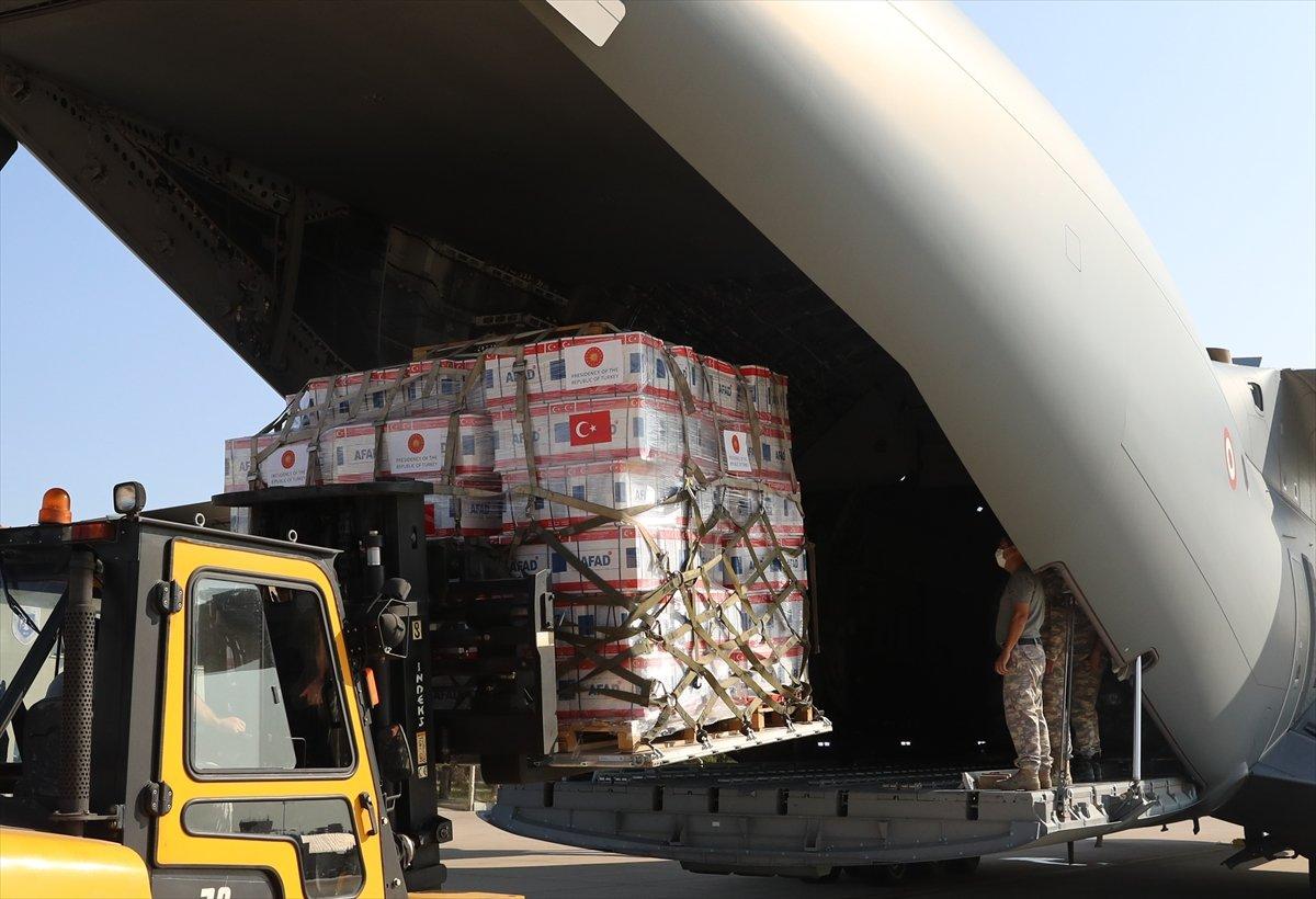 Türkiye, depremin ardından Haiti ye yardım gönderdi #9