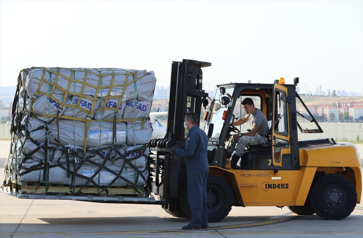 Türkiye, depremin ardından Haiti ye yardım gönderdi #4
